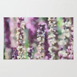Purple Ribbons Rug