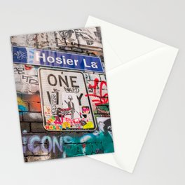 Hosier Lane Street Graffiti Melbourne Printable Wall Art | Australia Urban City Photography Print Stationery Cards
