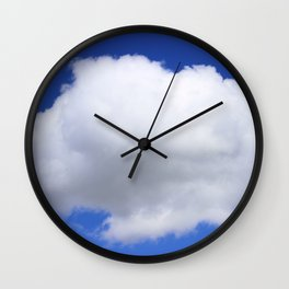Pillow in the Sky Wall Clock