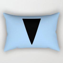 Couleurs imaginaires :Drapeau de l'atlantide Rectangular Pillow