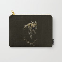 Amber Maned Wolf Carry-All Pouch