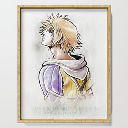 Tidus Artwork Final Fantasy X Serving Tray