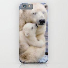 Polar Bear Love iPhone Case
