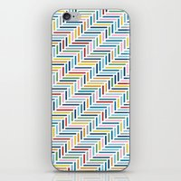 Herringbone Color iPhone & iPod Skin