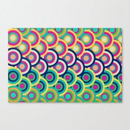 Circle colors Canvas Print