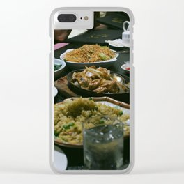 chinese delight Clear iPhone Case