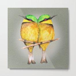 Little bee-eaters Metal Print