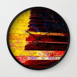 Piano art 6 Wall Clock