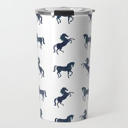 Where the blue horses run Travel Mug