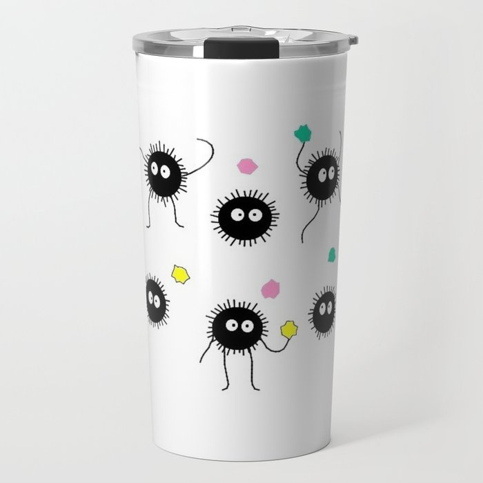 Soot Sprites Spirited Away Travel Mug By Diba Society6