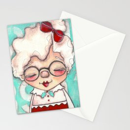 Mrs. Claus Stationery Cards