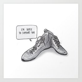 listen to your sole Art Print