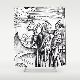 Margarita Philosophica Shower Curtain