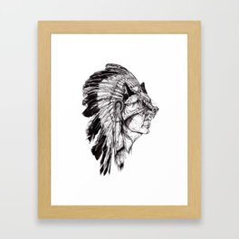 Ambiguous Indian Framed Art Print