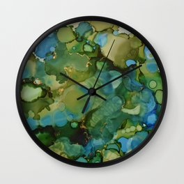 Tidal Pool Wall Clock