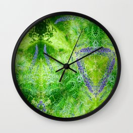 Picnic On The Common Wall Clock