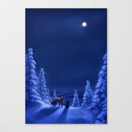 Polar Nights Canvas Print