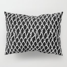 Net Black Pillow Sham