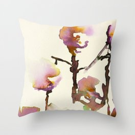 Flowers #1 Throw Pillow