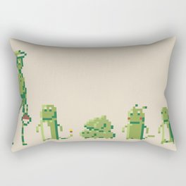 8-Bit Pokémon Rectangular Pillow