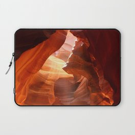 A Canyon Sculptured By Water Laptop Sleeve