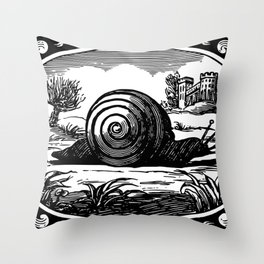Divine emblems, or Temporal things spiritualized 1867 Throw Pillow