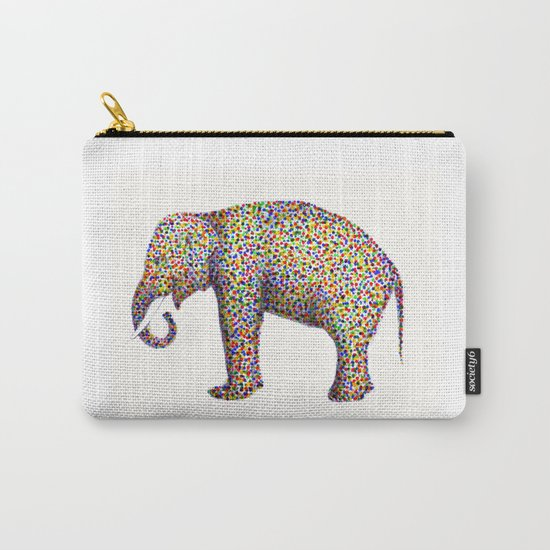 elephant color Carry-All Pouch