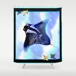 Manta Rays Shower Curtain