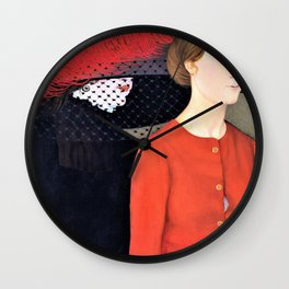 De twee lentes - Gustave Van de Woestijne Wall Clock