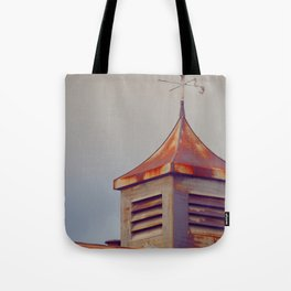 Rusted Rooftop Tote Bag