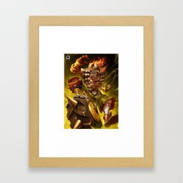 junkrat over Framed Art Print