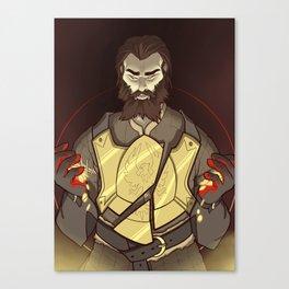 Companion Fears - Himself Canvas Print