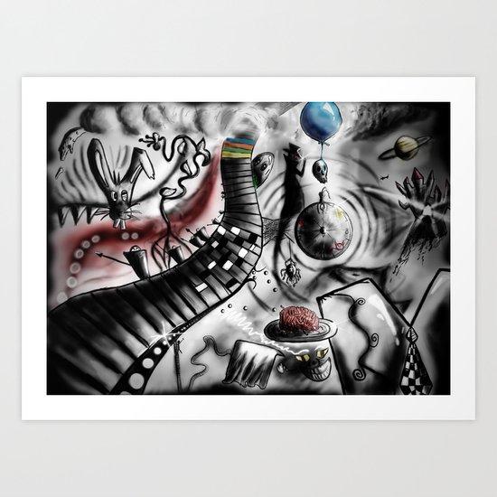 Wonderland Art Print
