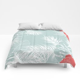 Tropical pattern 041 Comforters