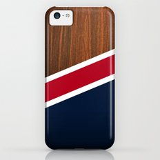 Wooden New England iPhone 5c Slim Case