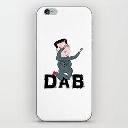 Kim Jong Un Dabbing iPhone Skin