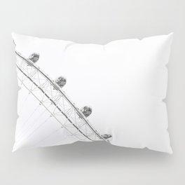 London Eye Monochrome Pillow Sham