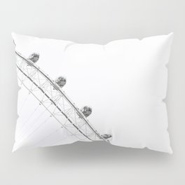 London Eye Monochrome Pillow Sham