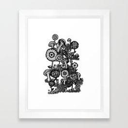 Field of Floweres Framed Art Print