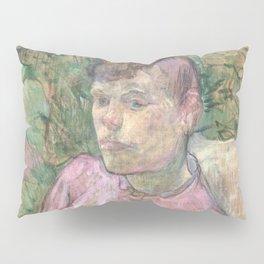 """Henri de Toulouse-Lautrec """"Woman in the Garden of Monsieur Forest"""" Pillow Sham"""