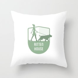Rittenhouse - Philly Sigils Throw Pillow