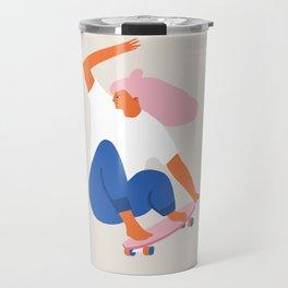 Skateboard girl Travel Mug