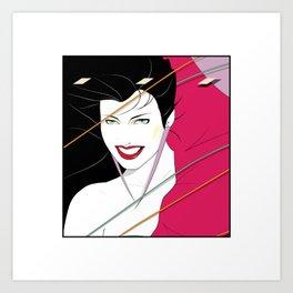 Pop Culture Design Art Print