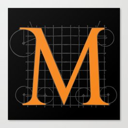 M from Serlio Canvas Print