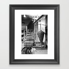 A taco place Framed Art Print