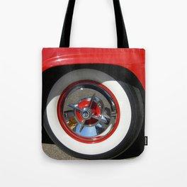 Vintage CarWheel Tote Bag