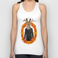 jackalope Tank Tops featuring Jackalope Evolved by Silvio Ledbetter