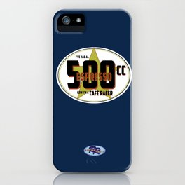 SRC Preparations Racecar Rebels: Cafe Racer iPhone Case