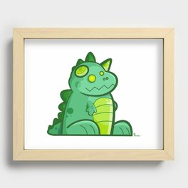 Kaiju Recessed Framed Print