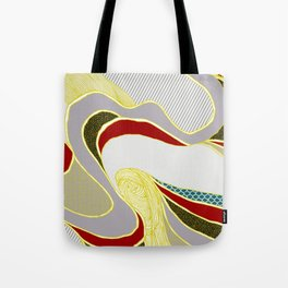 naive lines Tote Bag